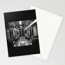 New York Subway Car Stationery Cards