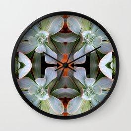 love love Succulent Wall Clock