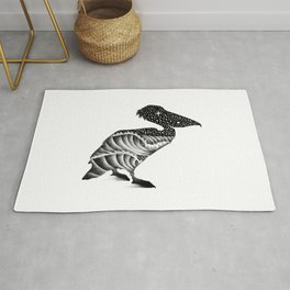THE PELICAN AND THE SEA Rug