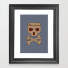 Paper Pirate Framed Art Print