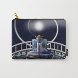Moon Fountain Carry-All Pouch