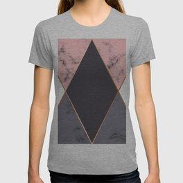 Marble Geometry 018 T-shirt