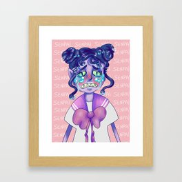 medusa-kohai Framed Art Print