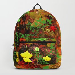 Autumn Leaf Droppings Backpack