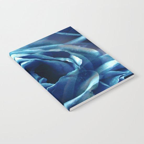 Blue Rose - Seamless Notebook