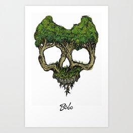 Roots (Color Version) Art Print