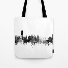 Fribourg Switzerland Skyline Tote Bag