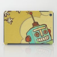 robot iPad Cases featuring Robot by Willow Dawson