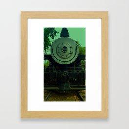 Bakersfield Train 2914.3 Framed Art Print