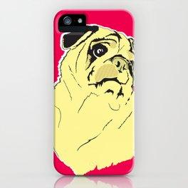 Shmoo the pug iPhone Case