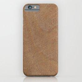 Wood 1 iPhone Case