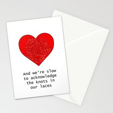 Heart It Races Stationery Cards