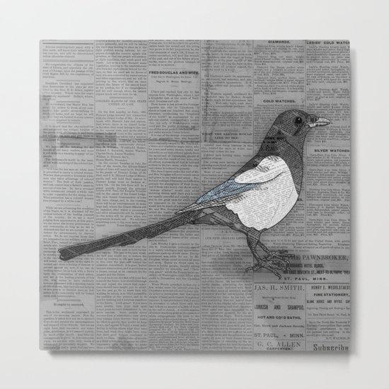 Bad News Bird Metal Print