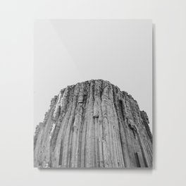 Devil's Tower Metal Print