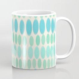 Blue & Green Easter Pastel Pattern Coffee Mug