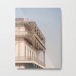 NOLA Lace #2 - New Orleans Travel Photography Metal Print
