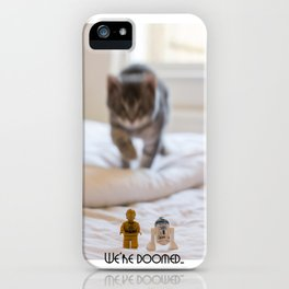 We're Doomed... iPhone Case