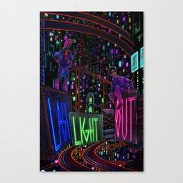 Last Light Out: Concept Cover Canvas Print