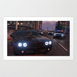 That Muscle Car Vibes Art Print