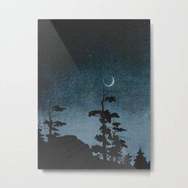 Walter Prichard Eaton - In Berkshire fields - 1920 - vintage Ombre Night Sky Metal Print