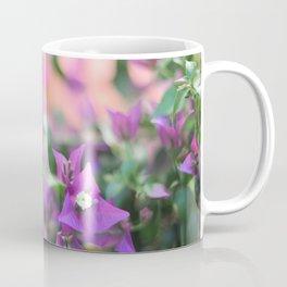 Romantic floral vibes - Bougainvillea #1 #decor #art #society6 Coffee Mug