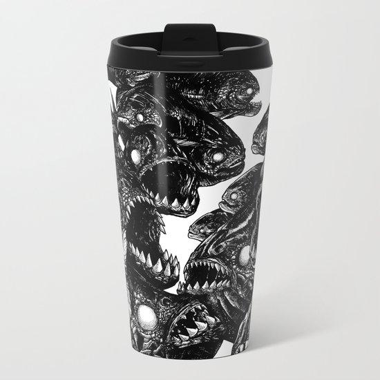 The Riot : Piranhas Metal Travel Mug