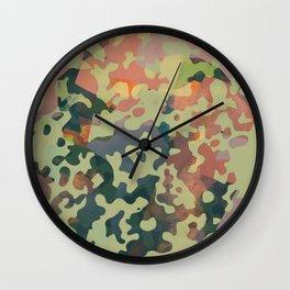 Camouflage XXXXV Wall Clock