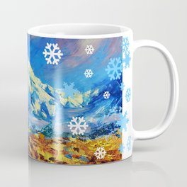 Mt Ruapehu, New Zealand Coffee Mug