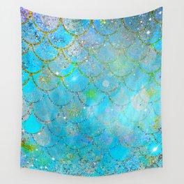 Mermaid Shimmer Wall Tapestry