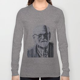 Melting Freud Long Sleeve T-shirt