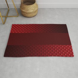 Red pearl Rug