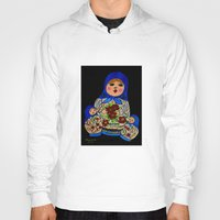 russian Hoodies featuring Russian dolls by maggs326