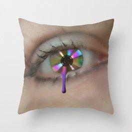 An Eye For Music Throw Pillow