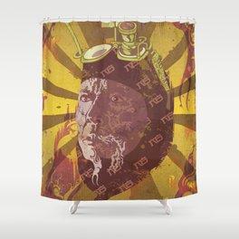 Hannibal Chew Shower Curtain