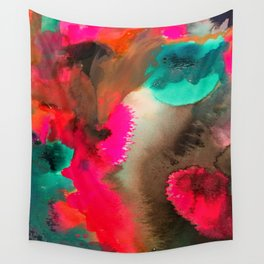 Abstract Storm Painting Wall Tapestry