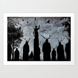 The Cult Art Print