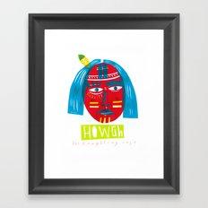 H O W G H  Framed Art Print