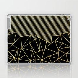 Ab Lines 45 Gold Laptop & iPad Skin