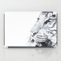 tiger iPad Cases featuring Tiger by Kirsten Neil