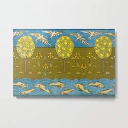 Maurice Pillard Verneuil - frise from L'animal dans la décoration Metal Print