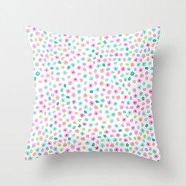 Unicorn Spots Throw Pillow