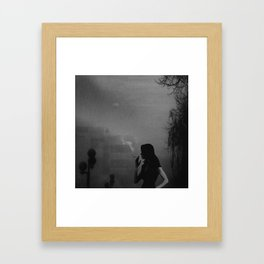Light and Darkness.. Framed Art Print