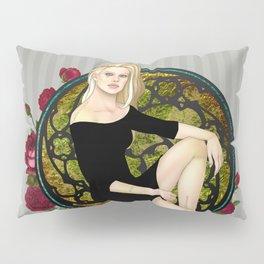 Stitched Up Pinup Pillow Sham