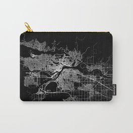 vancouver map canada Carry-All Pouch