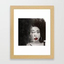 Keisha D Face To Face Framed Art Print