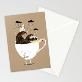 Brainstorming Coffee Stationery Cards