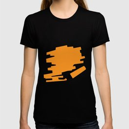 Orange Marker Copy Space T-shirt