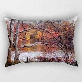 Fall in Central Park Rectangular Pillow