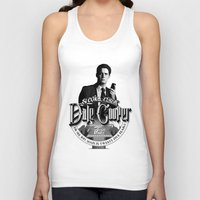 dale cooper Tank Tops featuring Dale Cooper - Twin Peaks by KevinART