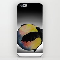 toothless iPhone & iPod Skins featuring Toothless by Emilee's Fine Art
